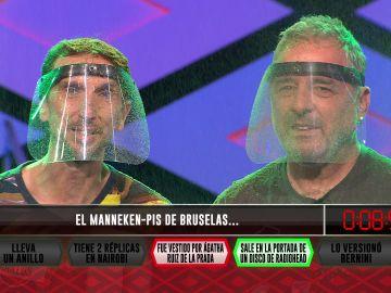 Los 'Babazorros' alucinan con un extravagante vestuario tras fallar una pregunta sobre Agatha Ruiz de la Prada