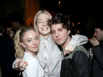 Lukas Gage, Hunter Schafer y Sydney Sweeney, actores de 'Euphoria'