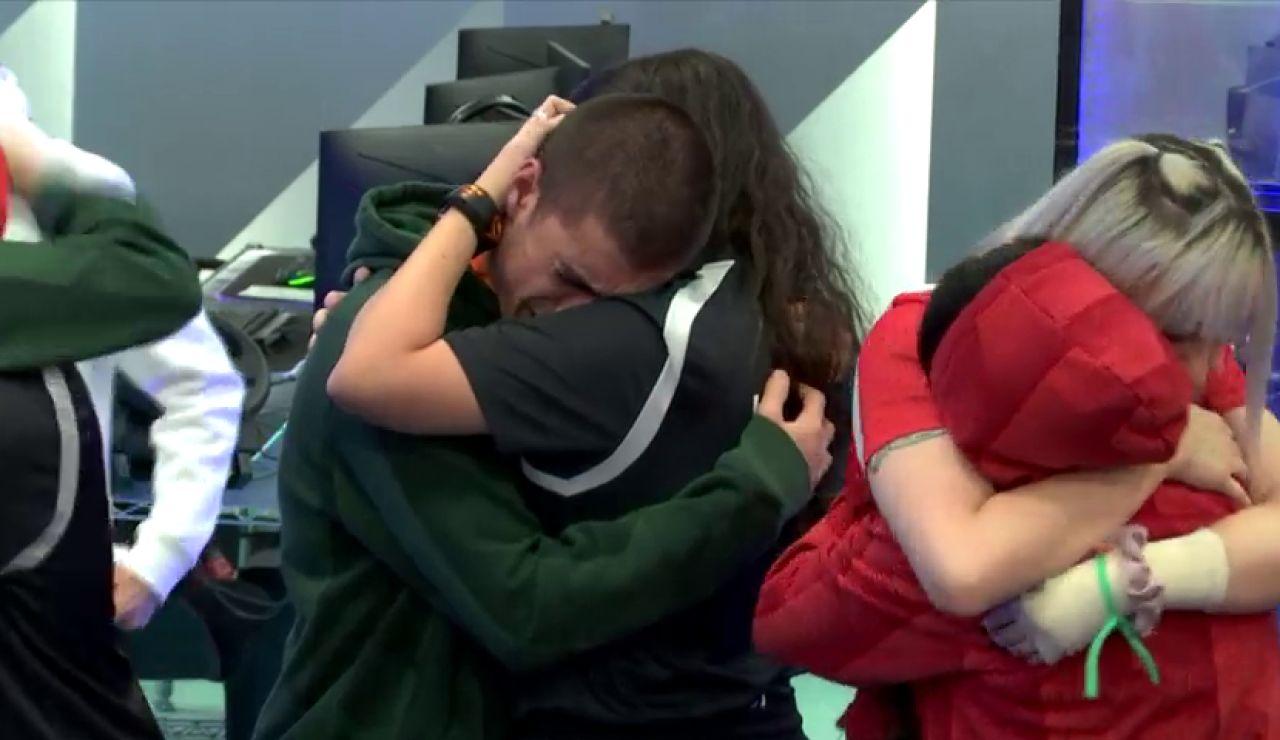 Los concursantes de 'Top Gamers Academy' se despiden de Pepelu, RubySy9 y ElSkipler
