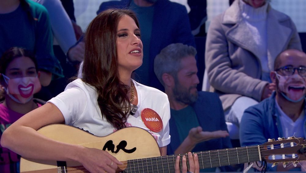 """María Peláe enamora con un remix de la """"grandísima Lola Flores"""" en 'Pasapalabra'"""