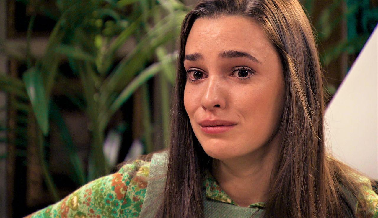 Emma, desbordada al conocer la detención de Abel