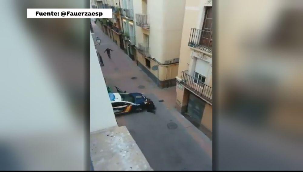 Abatido a tiros un individuo que amenazó con un arma a varias personas en Zaragoza