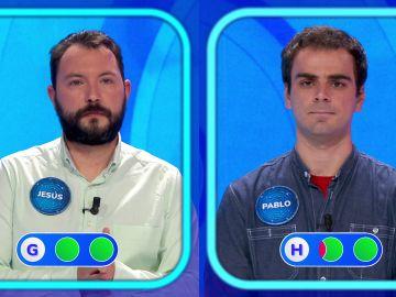 """El """"riesgo"""" de la 'Silla Azul': Pablo y Jesús se la juegan en un emocionante duelo en 'Pasapalabra'"""