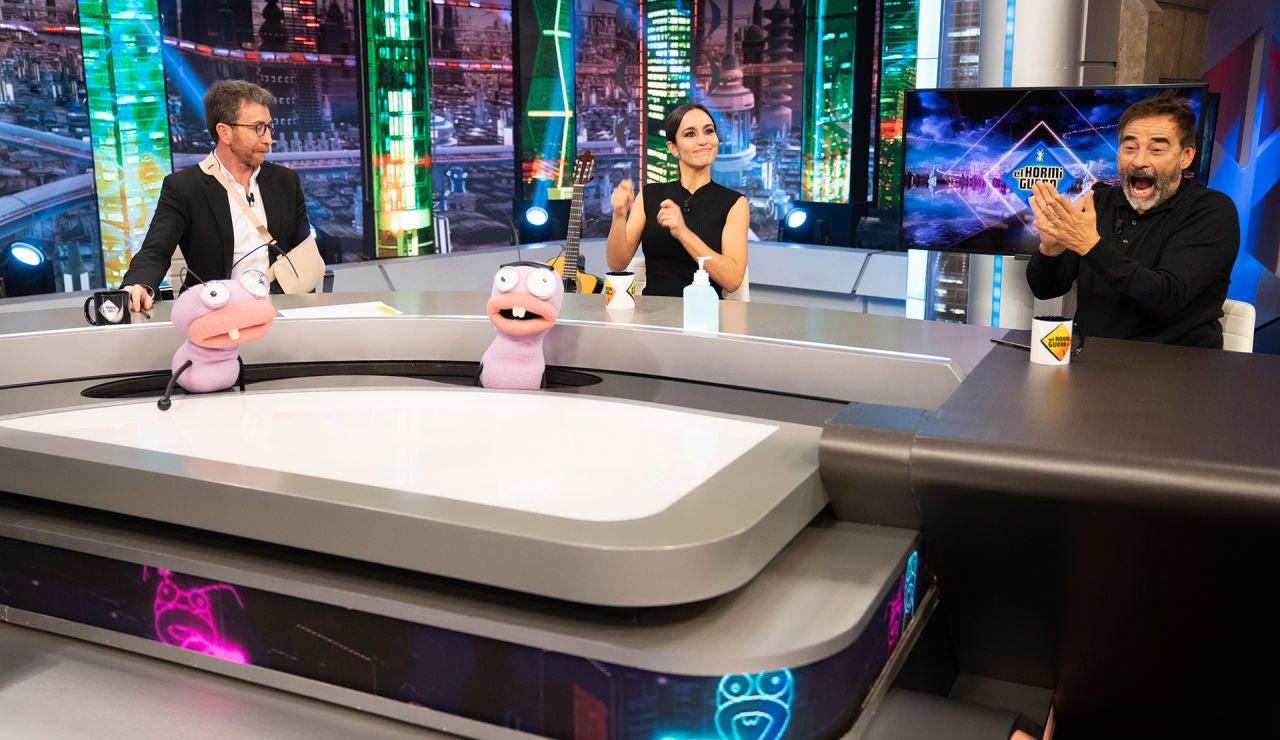 """Megan Montaner y Eduard Fernández se vuelven adictos al nuevo juego de Trancas y Barrancas: """"Era feo ya de pequeño"""""""
