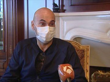 Enrique García, ingresado en la UCI por coronavirus