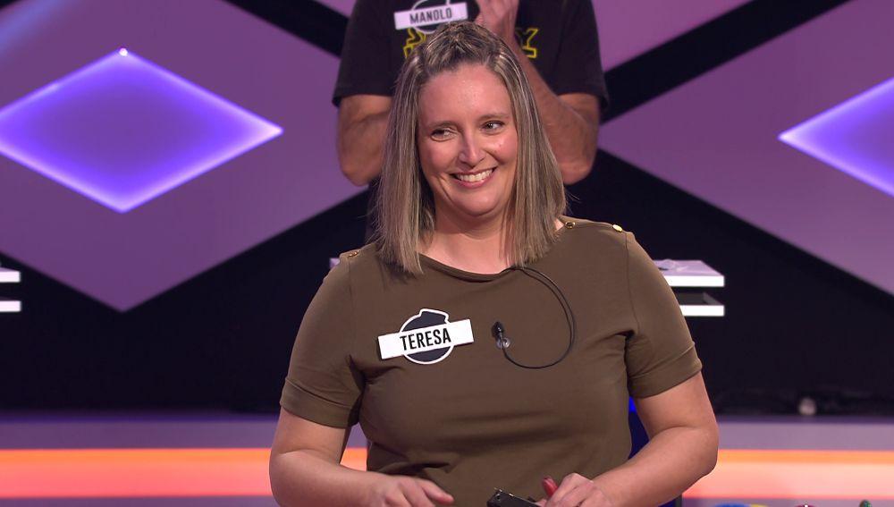 El 'pique' de chistes entre Teresa, de las 'Poker queens' y Juanra Bonet