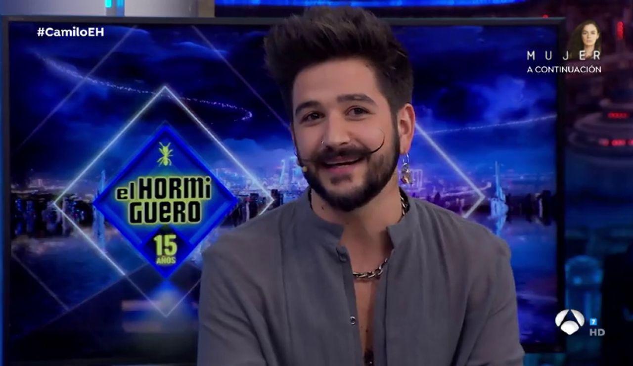 Camilo contesta en 'El Hormiguero 3.0' a la pregunta que nunca le han hecho sobre su característico bigote