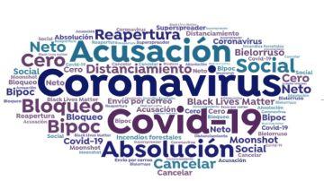 Estas son las 16 'palabras del año' en 2020 del Diccionario Oxford: coronavirus, distanciamiento social o Black Lives Matter