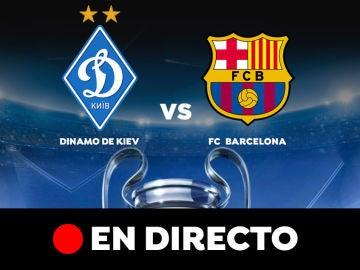 Dinamo de Kiev - Barcelona: Resultado y goles del partido de hoy, en directo | Champions League