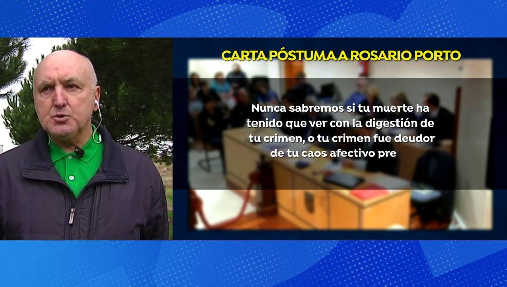 Experto en psicología criminal explica el perfil de Rosario Porto