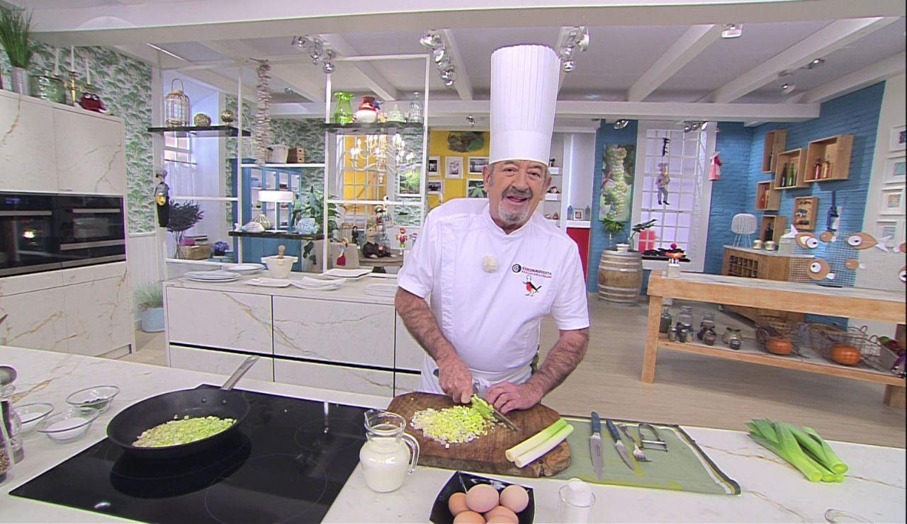 """Así cuenta Karlos Arguiñano la historia de su receta más especial: """"Fue el comienzo de algo maravilloso"""""""
