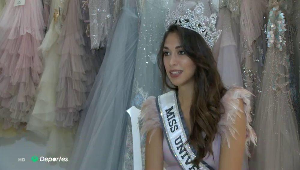 Andrea Martínez, exjugadora de baloncesto, elegida nueva Miss Universo España 2020