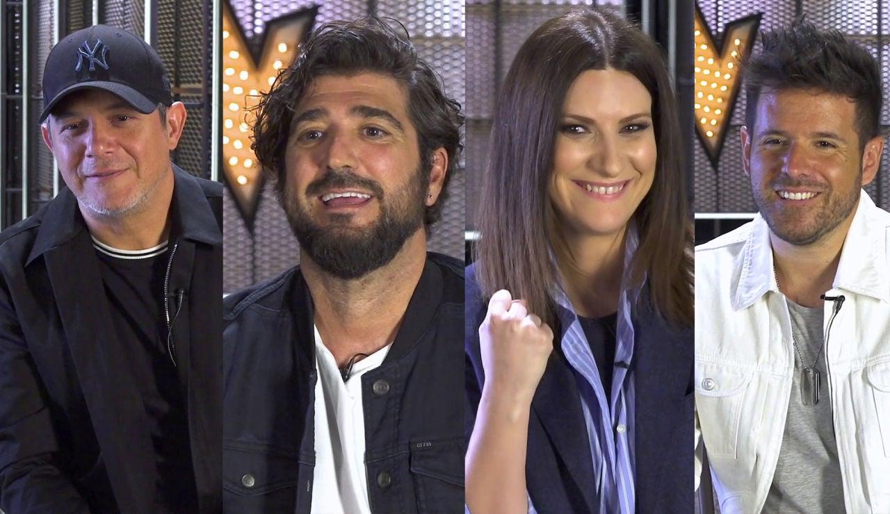Alejandro Sanz, Antonio Orozco, Laura Pausini y Pablo López, retados a superar test más complicado de 'La Voz'