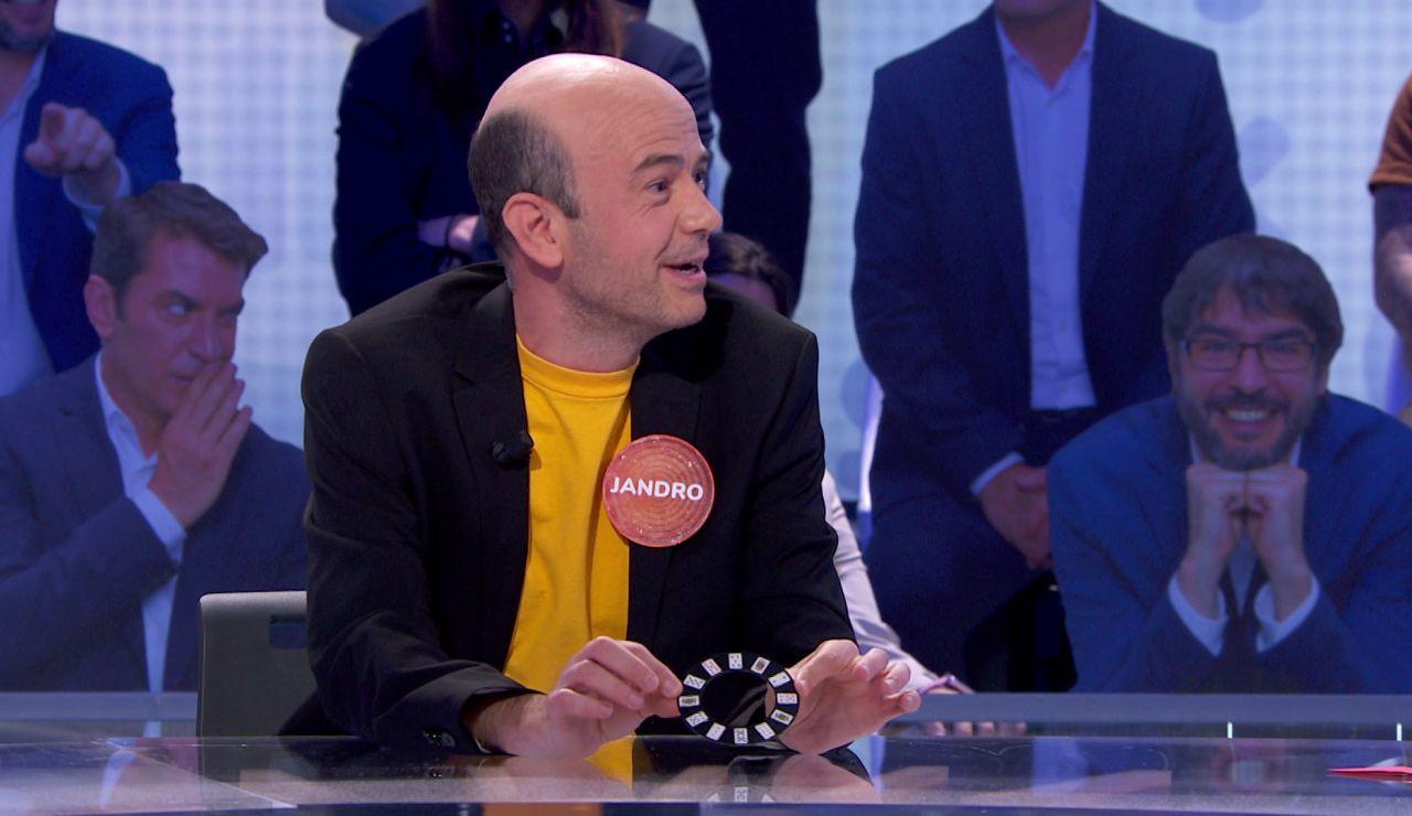 """Jandro se viene arriba y se atreve con 'El Rosco' de Luis y Pablo: """"Aficionados a mi lado"""""""