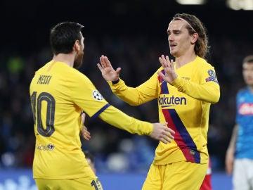 """Griezmann: """"Messi me dijo que cuando rechacé al Barcelona le jodió"""""""