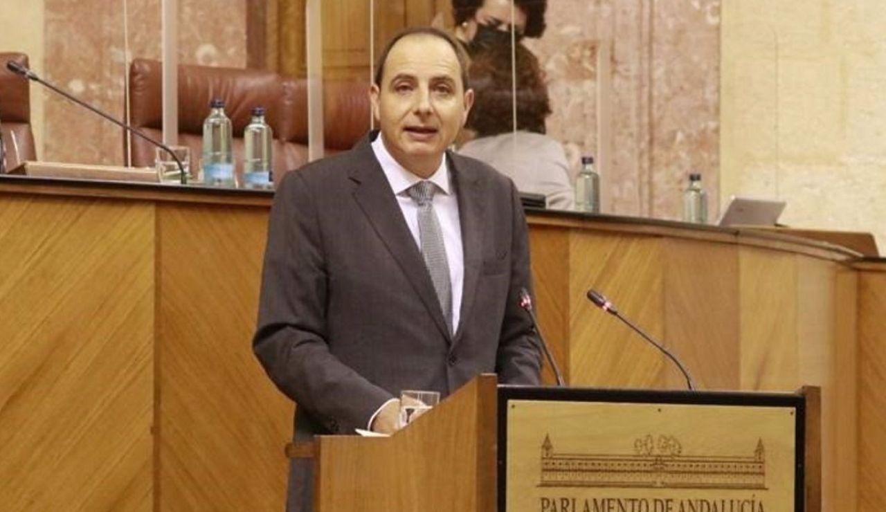 """Francisco Ocaña (VOX) lamenta las """"restricciones muy severas para Granada"""" por parte de la Junta"""