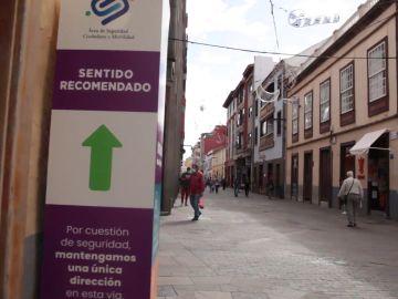 Calles de sentido único en La Laguna
