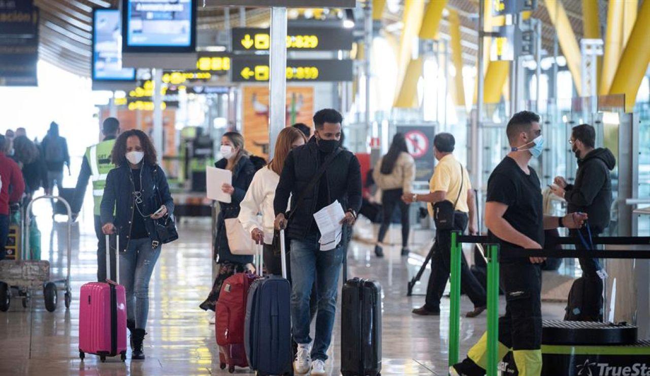Aeropuerto con medidas ante el coronavirus