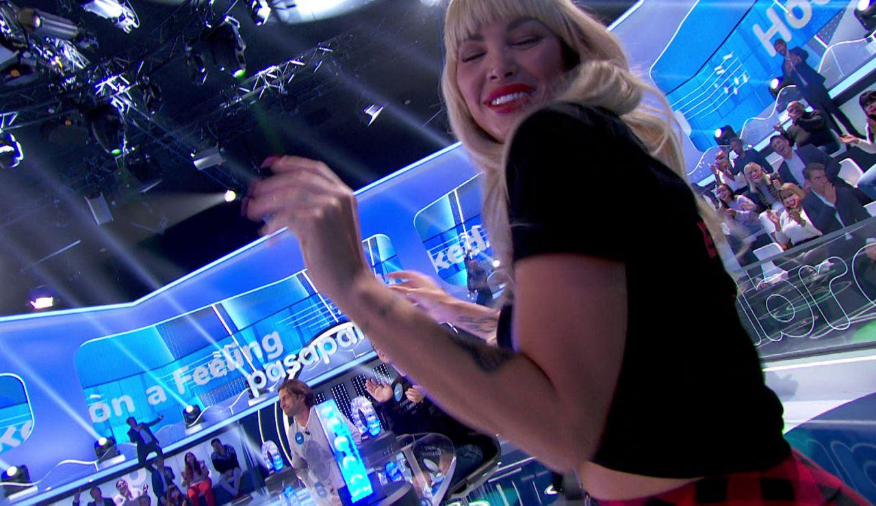 Daniela Santiago triunfa con 'Hooked on a feeling' en 'La Pista'