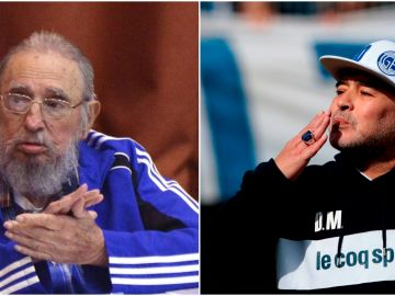 Maradona muere el mismo día que su amigo Fidel Castro, 4 años después
