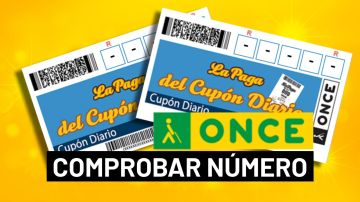 Comprobar ONCE: Sorteo del Cupón Diario hoy en directo