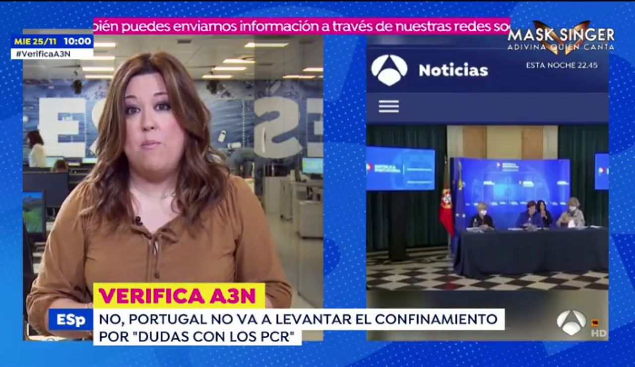 El bulo sobre el levantamiento de las restricciones por coronavirus en Portugal