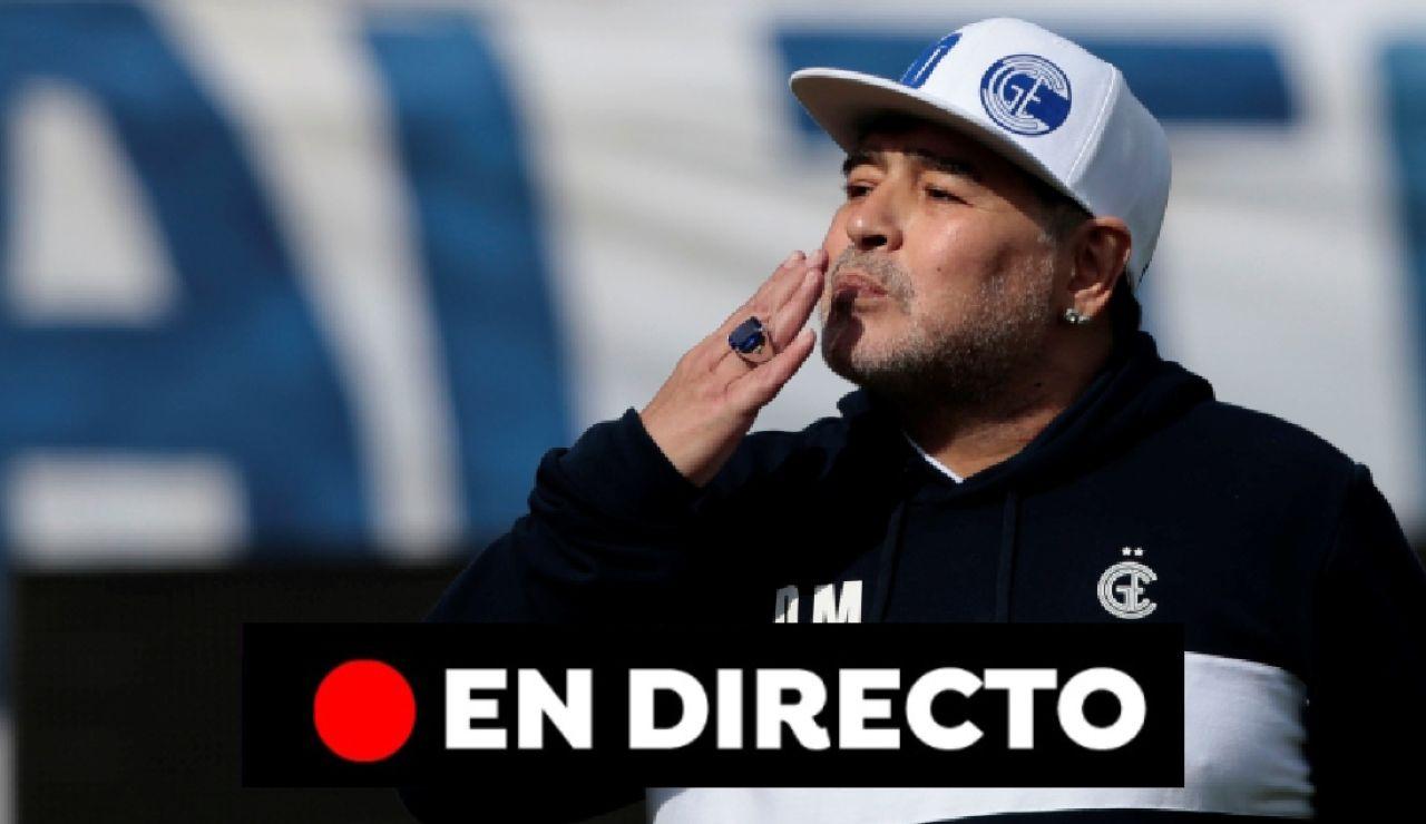 Muere Maradona, últimas noticias en directo