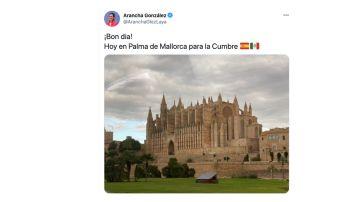 El tuit de Arancha González Laya