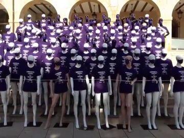 Un ejército de guerras en el Día internacional contra la Violencia de Género en Denia