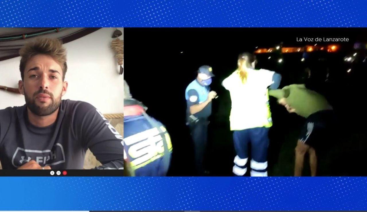 Rescata en Lanzarote.