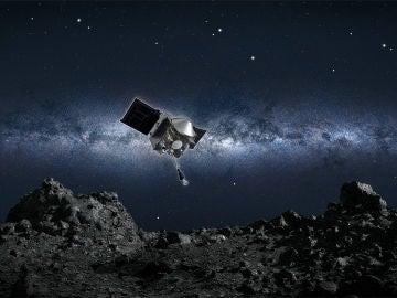 La NASA recoge por primera vez muestras de un asteroide