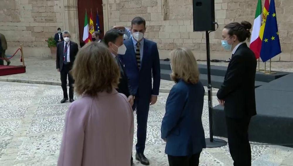 """Pablo Iglesias reconoce tensiones en el Gobierno: """"Deberíamos aprender de Italia"""""""