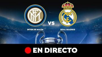 Inter de Milán - Real Madrid: Resultado y goles del partido de hoy, en directo   Champions League