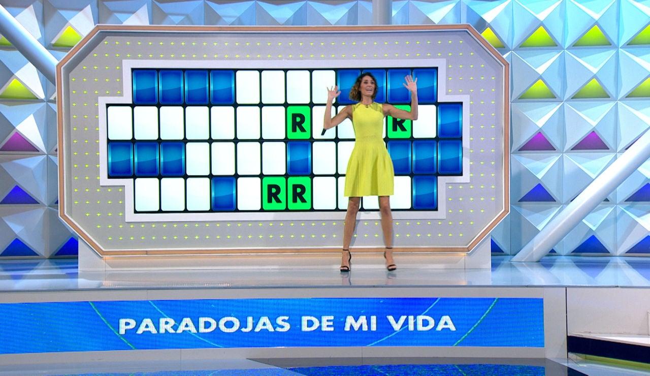 ¡Nunca había pasado en 'La ruleta de la suerte'! Una concursante desvela la letra oculta en su primera tirada