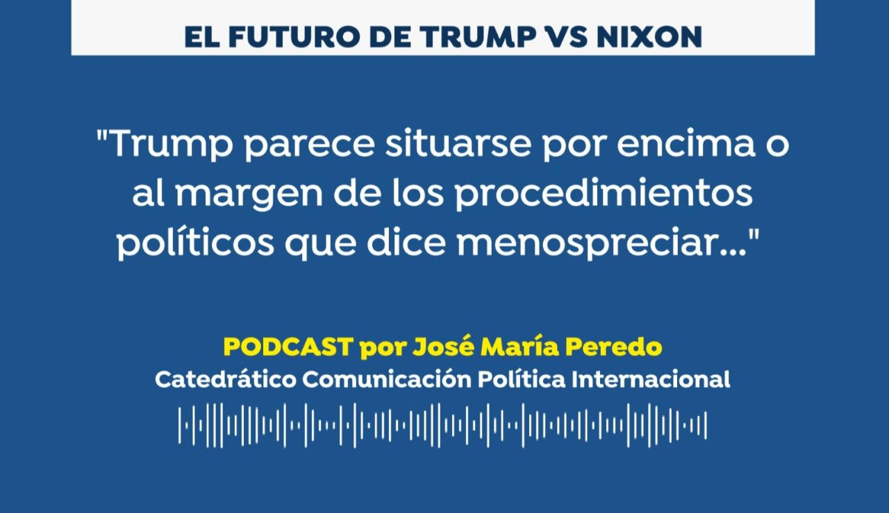 José María Peredo. Donald Trump vs Richard Nixon