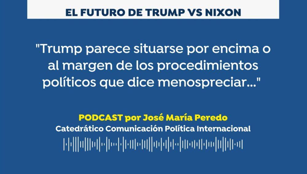 José María Peredo. Donald Trump vs Richard Nixon