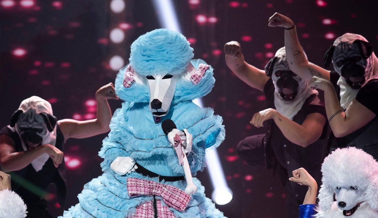 El Caniche perrea en 'Mask Singer' con 'No me acuerdo' de Thalía y Natti Natasha