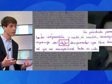 Grafólogo cartas Rosario Porto