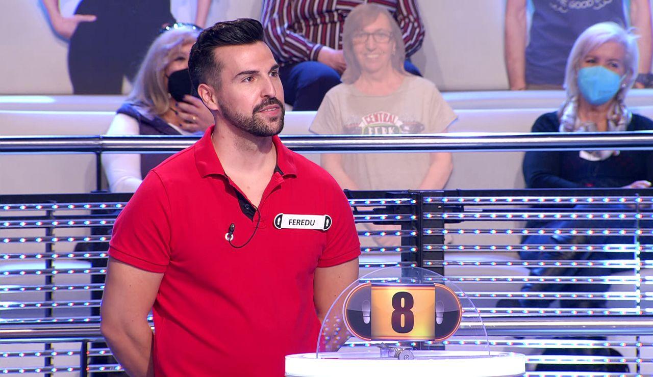 """""""¿A que me enfado?"""": La reacción de Arturo Valls ante el increíble fallo de Feredu en '¡Ahora caigo!'"""