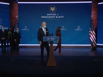 """Joe Biden: """"Estados Unidos está de vuelta para liderar el mundo"""""""
