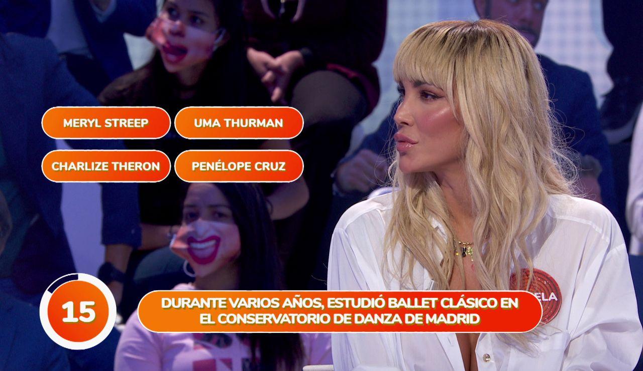 Una verdad sobre Penélope Cruz sorprende a Daniela Santiago en 'Una de Cuatro'