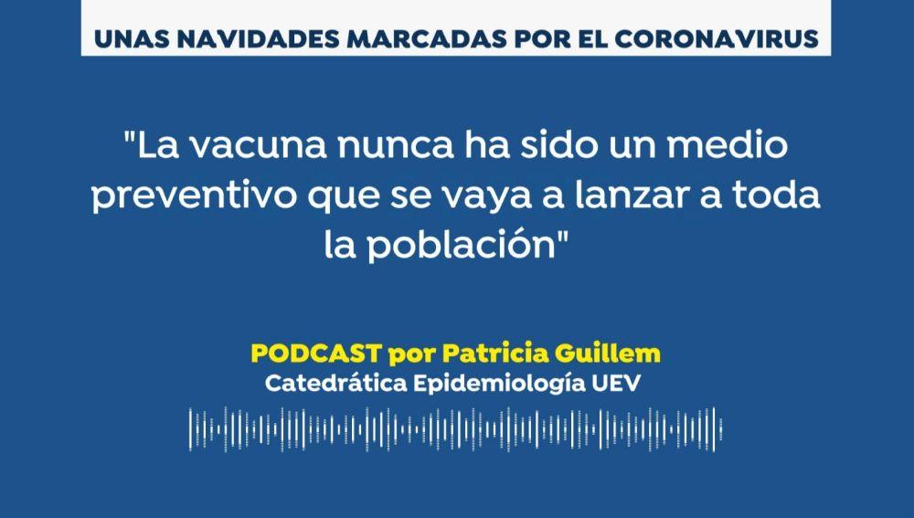 Podcast Patricia Gillem. Unas Navidades marcadas por el coronavirus