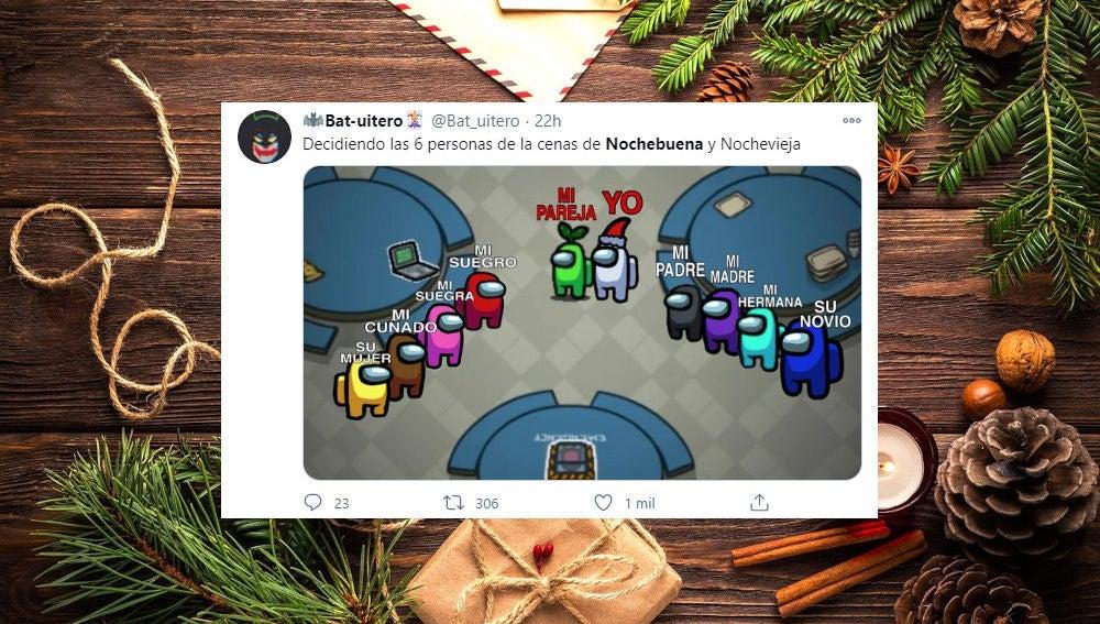 Memes del plan sanitario para Navidad