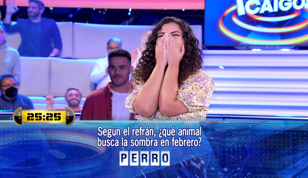Marina empieza por todo lo alto en '¡Ahora caigo!': ¡Saltándose una norma básica del concurso!