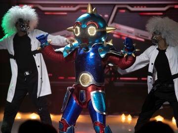 El Robot deja a todos atónitos en 'Mask Singer' con 'Superstar' de Jamelia