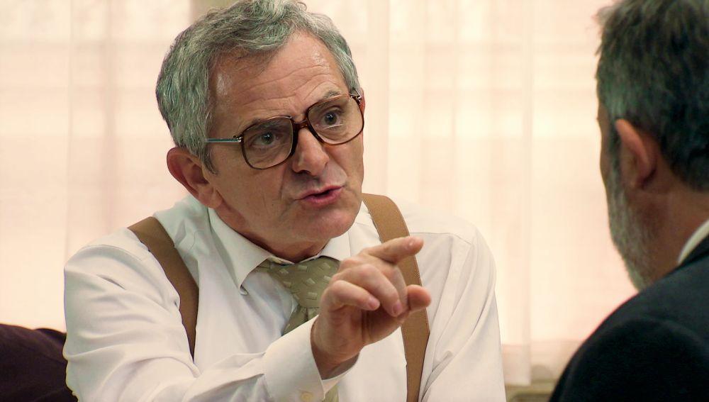 """La enorme decepción de Quintero tras saber quién es el padre de Virginia: """"Eres un canalla"""""""