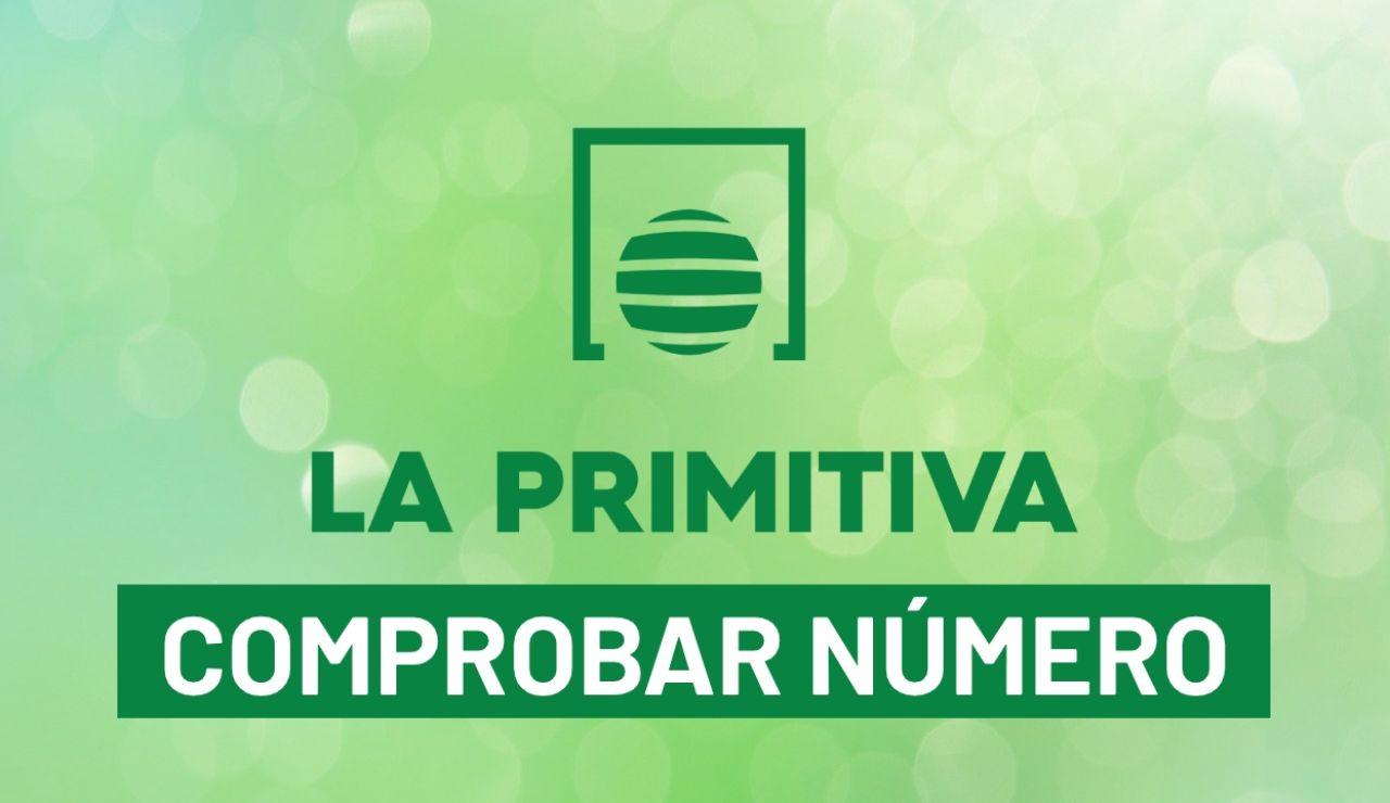Comprobar número de La Primitiva de hoy, sorteo en directo