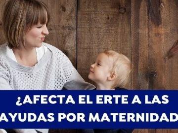 Las madres trabajadoras en ERTE no cobran las ayudas por maternidad