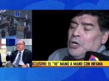 Debate sobre Maradona