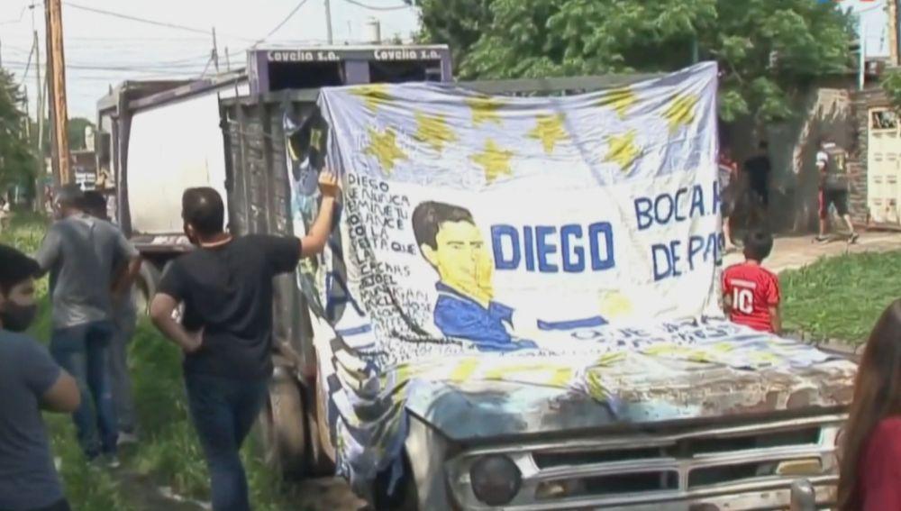 Argentina desolada por la muerte de Maradona
